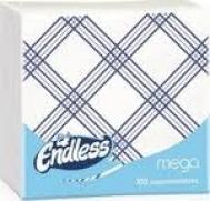 Endless Χαρτοπετσέτες Mega 100 Τεμάχια