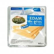 Creta Farms Edam  Ολλανδίας σε Φέτες 160 gr