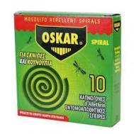Oskar Εντομοαπωθητικές Σπείρες 10 Τεμάχια 120 gr