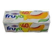 Φάγε Fruyo Γιαούρτι με Ροδάκινο 1.5% 3 Χ170 gr