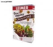 Leimer Crοutons  με γευση  Σκόρδο & Κρεμμύδι 100 gr