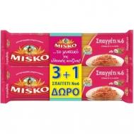 Misko Μακαρόνια Νο6 3+1 Δώρο  500 gr