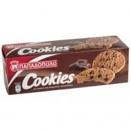Παπαδοπούλου Μπισκότα Cookies με Διπλή Σοκολάτα 180 gr