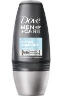 Dove Roll on Clean Comfort Men 50 ml