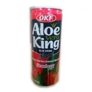 Aloe Vera King Φράουλα 240 ml