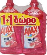 Ajax Υγρό Δαπέδου  Μαγειρική Σόδα & Γκρειπφρουτ  1 lt   1+1 Δώρο