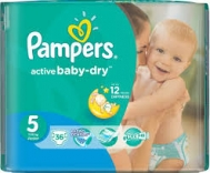Pampers Active  Baby Dry  No  5  36  Τεμαχια