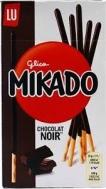 Mikado Μαύρη Σοκολάτα Sticks 75 gr