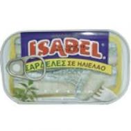 Isabel Σαρδέλες σε Ηλιέλαιο 125 gr