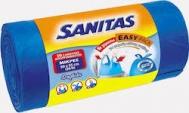 Sanitas  Σακούλες Απορριμμάτων 50x55