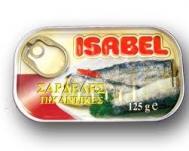 Isabel Σαρδέλες Πικάντικες 125 gr