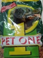 Pet One Τραγανες Κροκέτες από Φρέσκο Κρέας Εμπλουτισμένες με Πρωτείνες, Μεταλλικά Στοιχεία και Βιταμίνες 1.5 kg