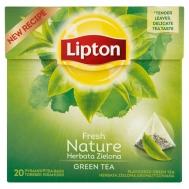 Lipton Green Tea Fresh Nature Πυραμίδα 20 Τεμάχια