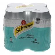 Schweppes Bitter Lemon 4x330 ml
