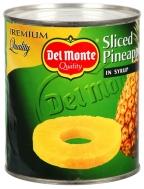 Del Monte Κομπόστα Ανανάς σε Σιρόπι 840 gr