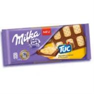 Milka Σοκολάτα Tuc 100 gr