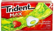 Trident Max Splash  Strawberry 22 gr