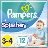 Pampers  Splashers 3-4  12 Τεμαχια