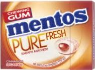 Mentos Pure Fresh Κανέλα 28 gr