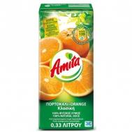 Amita Πορτοκάλι Φυσικός Χυμός 330 ml