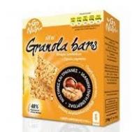 Go Nutri Μπάρες Granola με Ξηρούς Καρπούς 6Χ25 gr