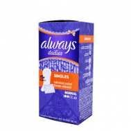 Always Dailies Σερβιετάκι  Single Fresh Scent Normal 20 σερβιετάκια