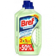 Bref Υγρό Δαπέδου Aloe Vera 2Χ 1 lt  το δεύτερο 50%