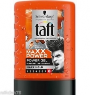 Taft Maxx  Power Gel  Maxx Hold 300 ml
