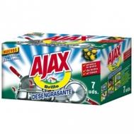 Ajax Συρμάτινα Σφουγγαράκια με Σαπούνι 7 Τεμάχια
