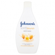 Johnson Soft &Nourise Αφρόλουτρο 400 ml
