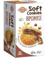 Βιολάντα  Soft Μπισκότα Βρώμης   με  κρέμα Gianduoa  220 gr