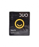 Duo Easy Fit Προφυλακτικά 3 ΤΜΧ