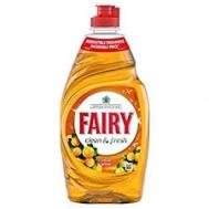 Fairy Clean & Fresh Υγρό Πιάτων Μανταρίνι 400 ml
