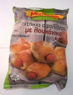 MamaMia Πιτάκια Σφολιάτας με Λουκάνικο 800 gr