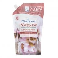 Papoutsanis Ανταλλακτικό  Κρεμοσάπουνο Almond Cream 750  ml