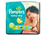 Pampers Baby Dry Νο 3  50 τεμάχια