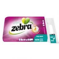 Zebra Χαρτί Υγείας 8 Ρολά  3 Φυλλο