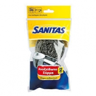 Sanitas Ανοξείδωτο Σύρμα 2 τεμάχια