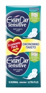 Everyday  Sensitive  Ultra Plus Normal  Σερβιέτες 18 Τεμάχια