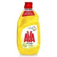 Ava Υγρό Πιάτων Λεμόνι 450 ml