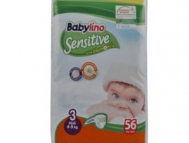 Babylino Sensitive Πάνες Νο 3 Extra Large 56 Τεμάχια