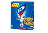 Aroxol Spiral  Φιδάκι 8+2 Τεμάχια