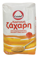Cristal Ζάχαρη Καστανή Κρυσταλλική 1 kg