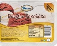 Desino Παγωτό Βανίλια- Σοκολάτα 1 L