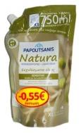 Papoutsanis Ανταλλακτικό  Κρεμοσάπουνο Natura με Εκχύλισμα Ελιάς 750  ml