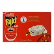 Raid Παγίδες για Κατσαρίδες  6 τεμάχια 15 gr