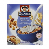 Quaker Δημητριακά με Βρώμη & Ξηρούς Καρπούς  375 γρ