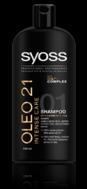 Syoss Oleo 21 Intense Σαμπουάν 750 ml