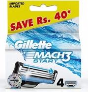 Gillette Mach 3 Start Ανταλλακτικά Ξυραφάκια 4 Τεμάχια