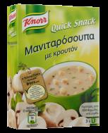 Knorr Quick Snack Μανιταρόσουπα με Κρουτόν 36 gr